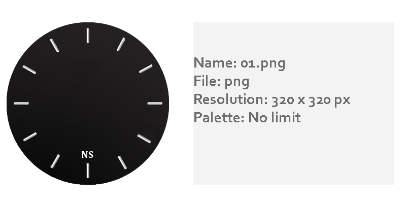 How to make new watch faces for Amazfit